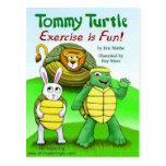 Tortuga de Tommy: ¡El ejercicio es diversión! Postales