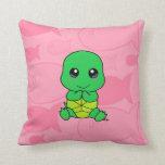 Tortuga del bebé almohadas
