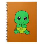 Tortuga del bebé spiral notebooks