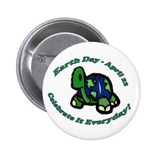 Tortuga del Día de la Tierra Pin