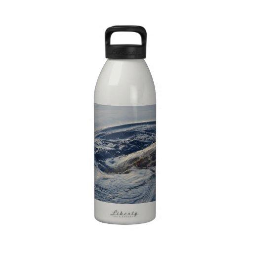 Tortuga del salto botella de agua reutilizable