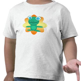 Tortuga deshilvanada de Itty Camisetas