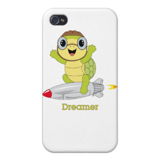 Tortuga Dreamer™ iPhone 4 Funda