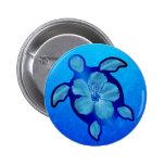 Tortuga e hibisco azules de Honu Pins
