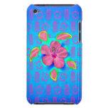 Tortuga e hibisco tropicales de Honu Case-Mate iPod Touch Fundas