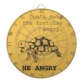 Tortuga enojada