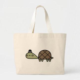Tortuga feliz bolsa de mano
