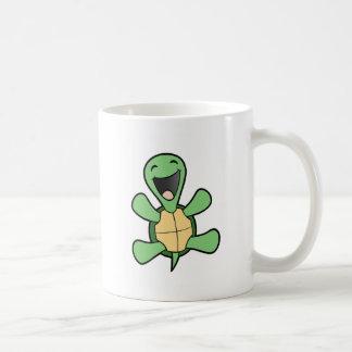 Tortuga feliz taza