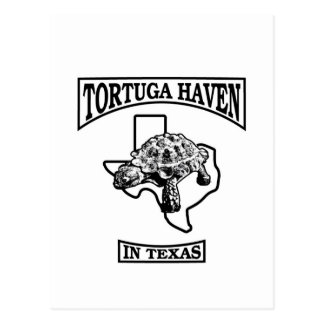 "Tortuga Haven in Texas Stylin"" It Up Postcard"