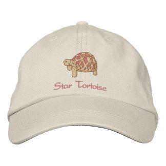Tortuga india de la estrella (bordado) gorra bordada