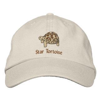 Tortuga india de la estrella gorra de beisbol