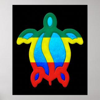 Tortuga jamaicana póster