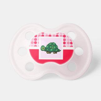 Tortuga linda chupetes para bebés