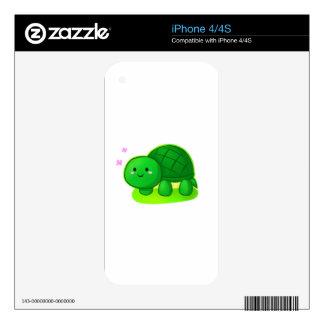 Tortuga pacífica skins para iPhone 4S