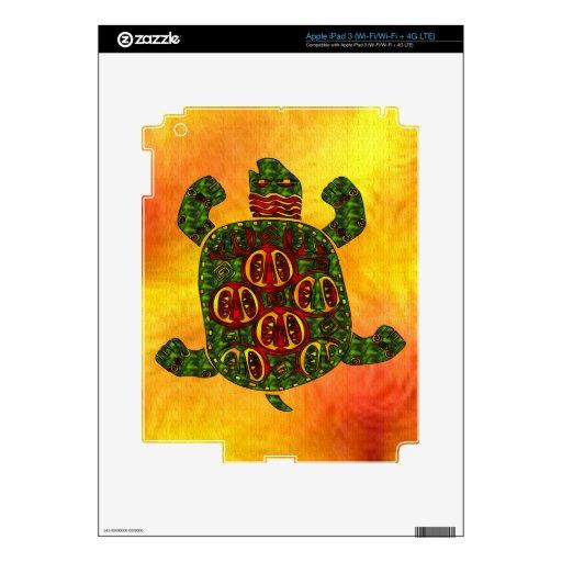 Tortuga Pegatina Skin Para iPad 3