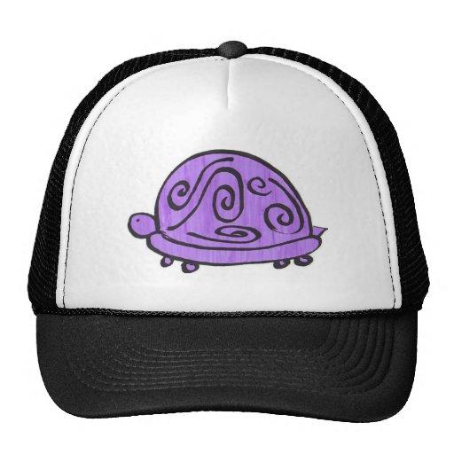 Tortuga púrpura gorro