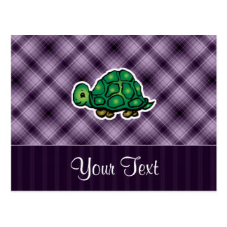Tortuga púrpura postales