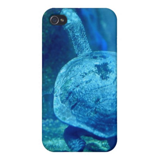 Tortuga que nada el caso subacuático del iPhone 4 iPhone 4 Protector