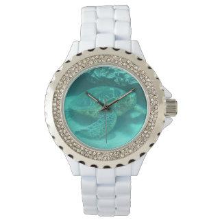 Tortuga subacuática reloj