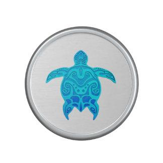 Tortuga tribal azul altavoz
