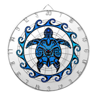 Tortuga tribal azul Sun