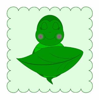 Tortuga verde el dormir fotoescultura vertical