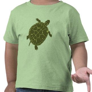 Tortuga verde camiseta