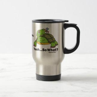 Tortuga y abeja tazas de café