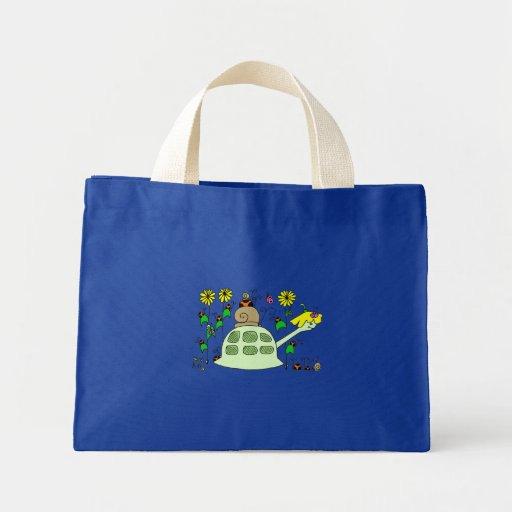 Tortuga y amigos bolsas de mano