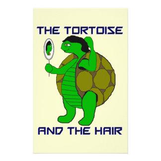 """Tortuga y el pelo folleto 5.5"""" x 8.5"""""""