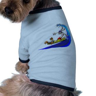 tortuga y liebres camisa de perro