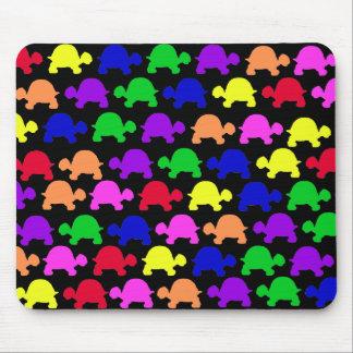 Tortugas coloridas tapete de raton