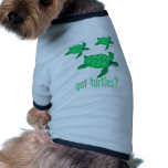 ¿Tortugas conseguidas? Camisa De Perro