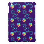 Tortugas de Honu e hibisco teñido lazo iPad Mini Protectores