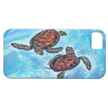 Tortugas de mar del bebé de Yin Yang Funda Para iPhone 5 Barely There