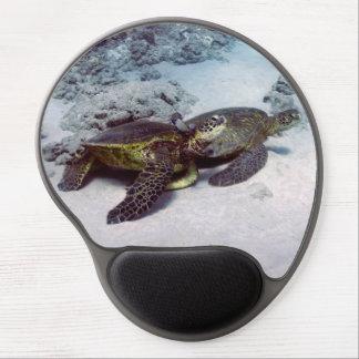 Tortugas de mar del cojín de ratón 1 alfombrillas con gel