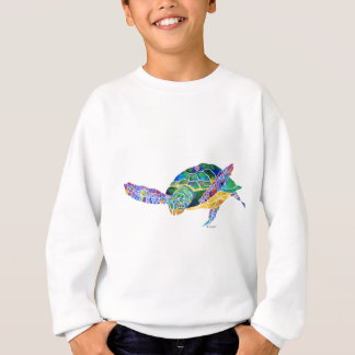 Tortugas de mar del océano playera