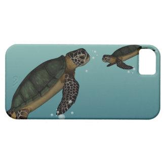 Tortugas de mar iPhone 5 carcasa
