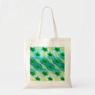 Tortugas de mar verde bolsa tela barata