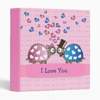 Tortugas divertidas lindas del día de San Valentín