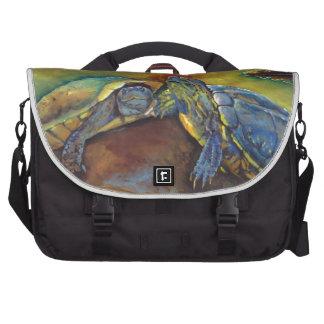 Tortugas pintadas bolsas de portatil