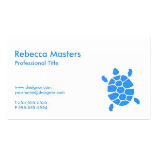 Tortugas profesionales tarjetas de visita