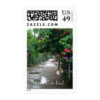 Tortuguero after the Rain Postage