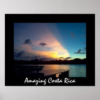 Tortuguero Sunset - Amazing Costa Rica Poster