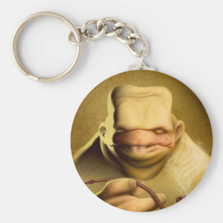 """""""Tortuous"""" by HATE Basic Round Button Keychain"""