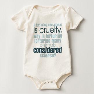 Tortura animal body para bebé