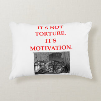 TORTURE DECORATIVE PILLOW