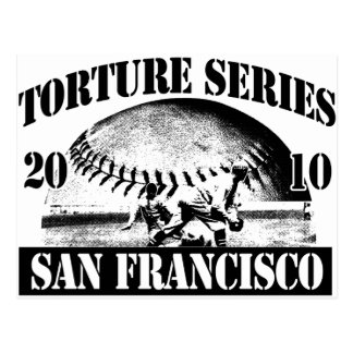 Torture Series Baseball 2010  Postcard