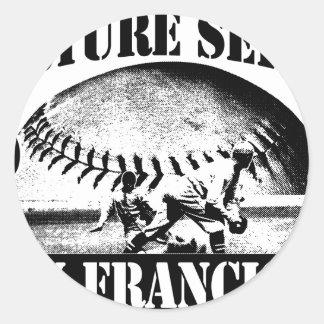 Torture Series Baseball 2010 San Francisco Classic Round Sticker