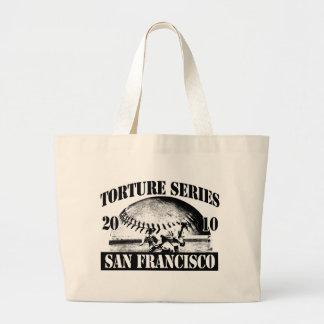Torture Series Baseball 2010 San Francisco Giants Jumbo Tote Bag